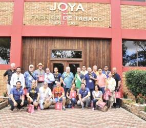 NICARAGUAN CIGAR FESTIVAL VISITING JOYA DE NICARAGUA FACTORY